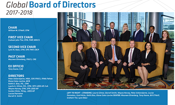 IFMA FY18 Board of Directors