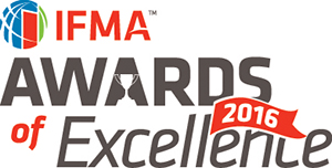 IFMA's 2016 Awards of Excellence logo