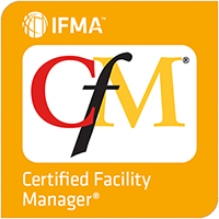 IFMA's Certified Facility Manager® (CFM®) Digital Badge Image