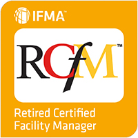 IFMA's Retired Certified Facility Manager® (RCFM®) Digital Badge Image