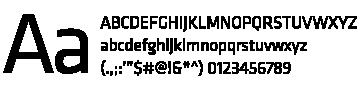 Klavika font