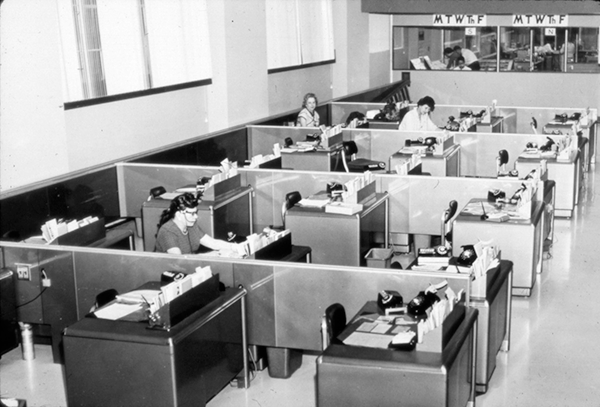 Seattle City Light Offices 1960s