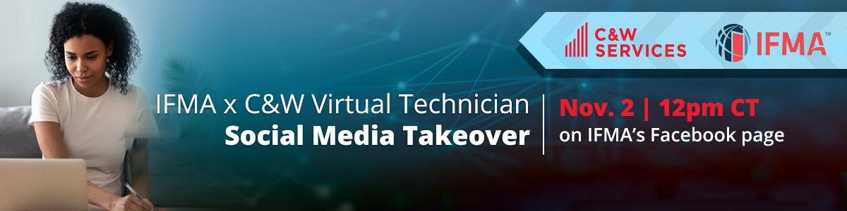 Social Media Takeover banner.