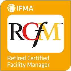 IFMA Retired Certified Facility Manager Badge