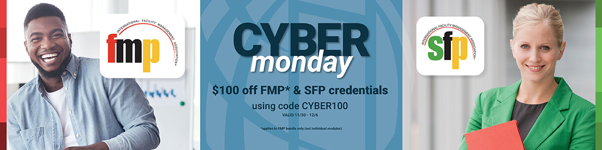 IFMA's Cyber Monday Banner