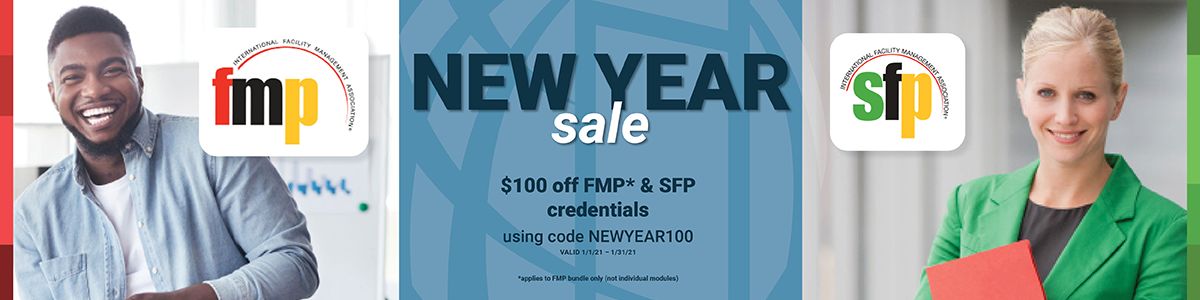 IFMA's FMP & SFP Credentials New Year Sale