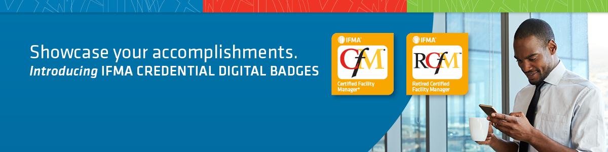IFMA Crendentials Digital Badges