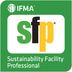 IFMA Sustainability Facility Professional Badge